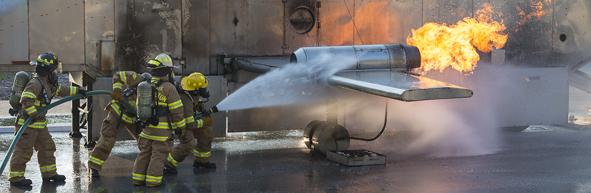 JB Charleston conducts annual mobile aircraft fire training