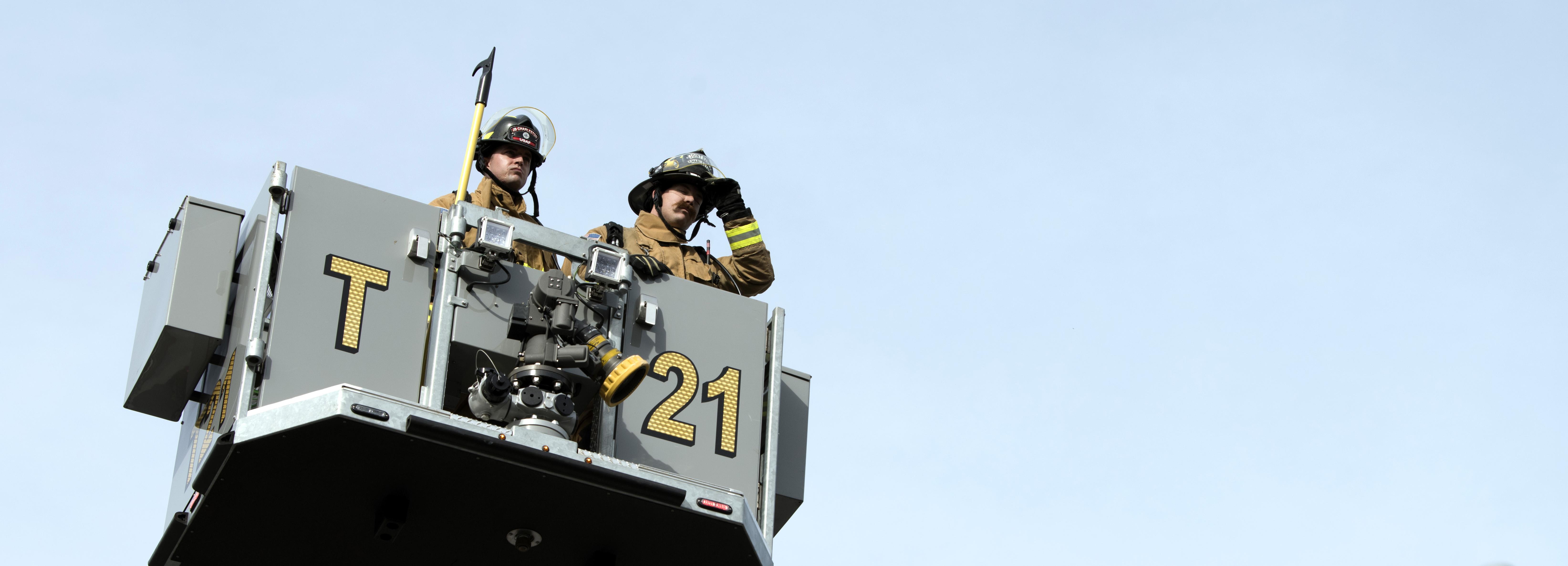 Regardless of the uniform we wear: 628th CES Fire Department